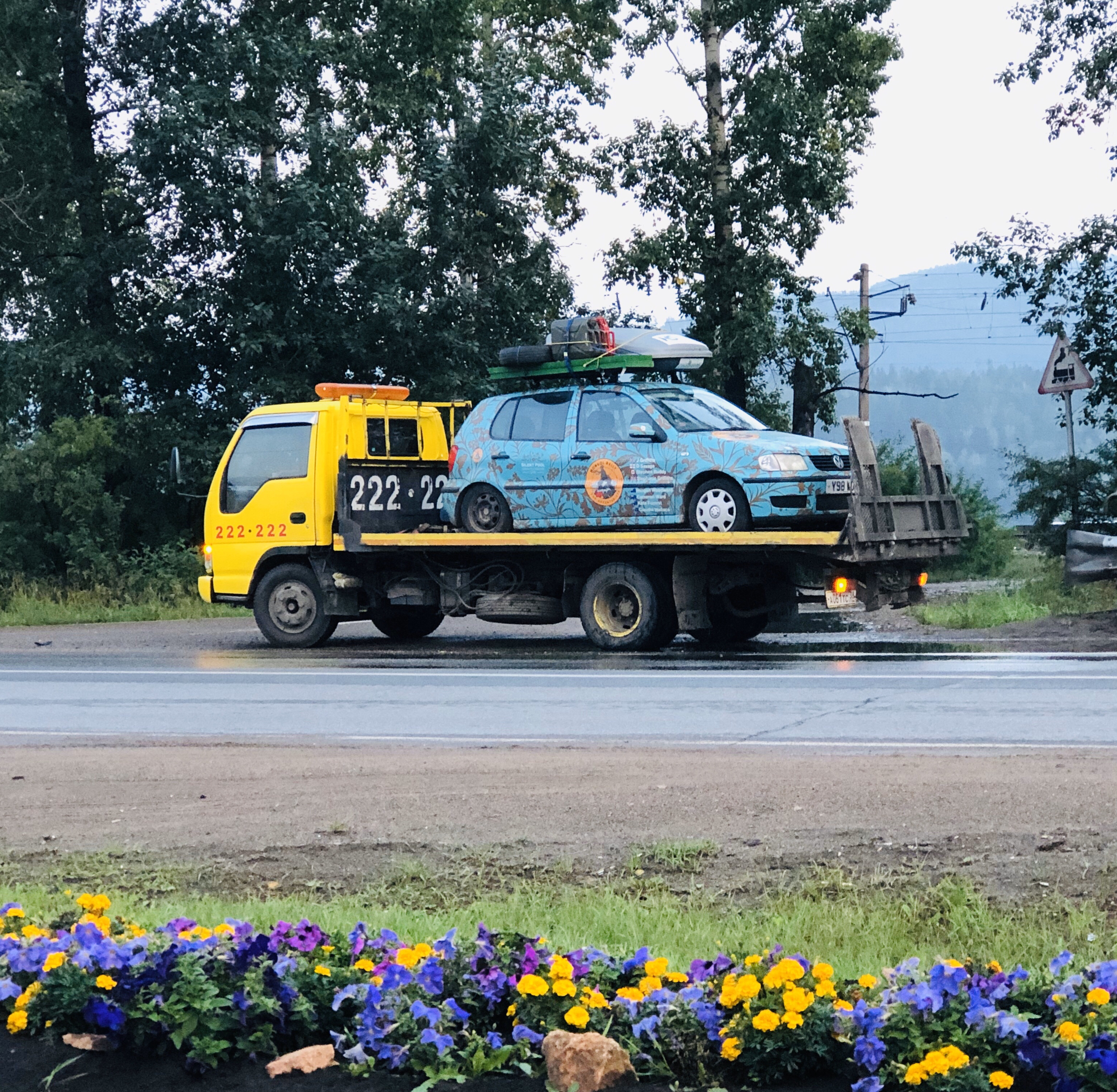 Blog 1 - Day 1 and 60km of driving, first tow