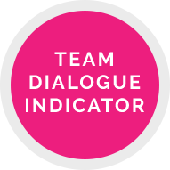 team dialogue indicator
