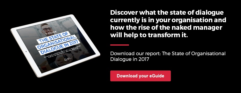 The State of Organisational Dialogue in 2017